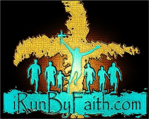 I Run By Faith cross